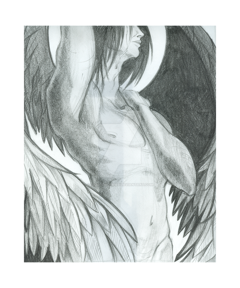 Fallen angel pencil by crimsoncrowe on deviantart fallen angel pencil by crimsoncrowe thecheapjerseys Choice Image