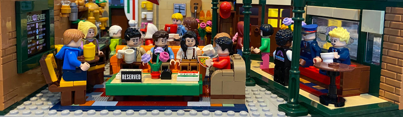 Lego me at Central Perk
