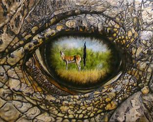 Eye Prey by DanBurgessTheArtist