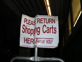 shopping cart return by spookylittlegirl