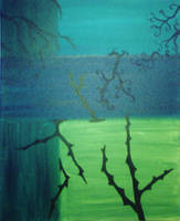 Thorns and Blue by spookylittlegirl