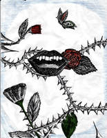 Lips and Thorns by spookylittlegirl