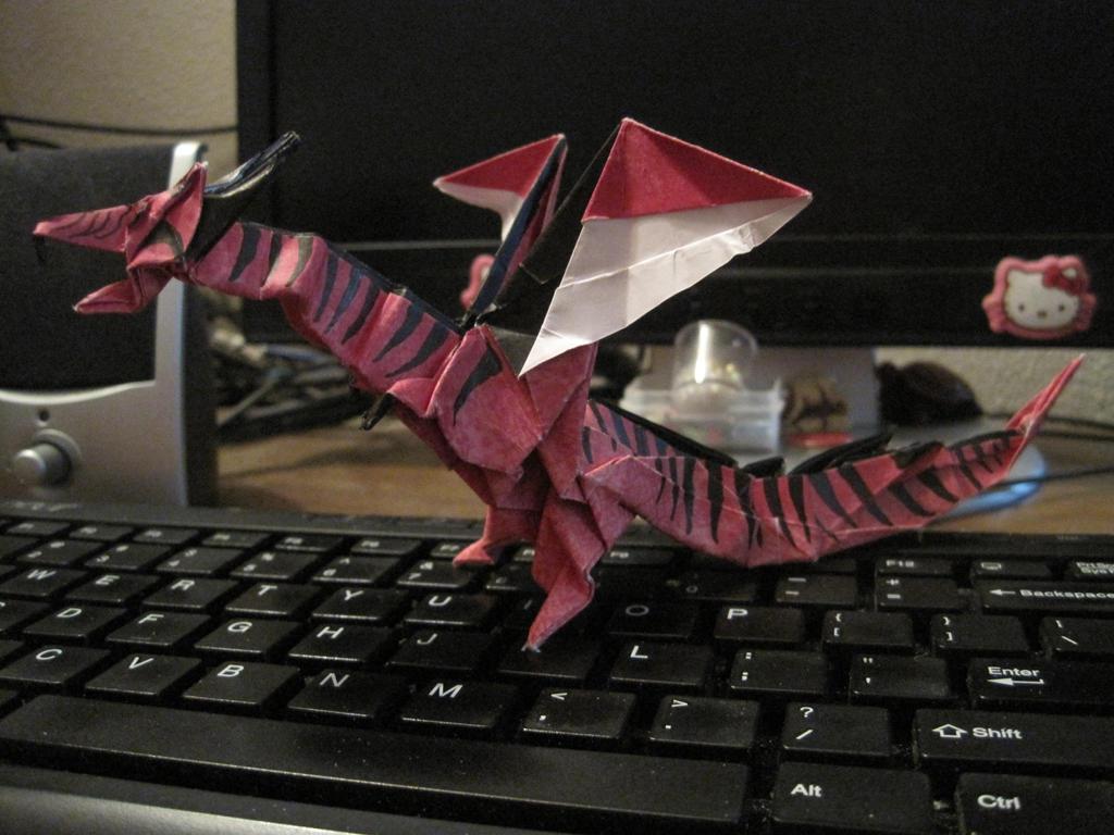 Kade Chan's Fiery Dragon by secretsheik on deviantART - photo#7