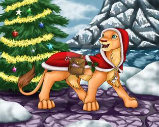 Nala's Christmas Abroad by secretsheik