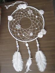 White Dreamcatcher