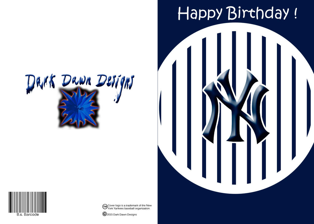 Yankee Birthday Card By Darkdawndesigns On Deviantart