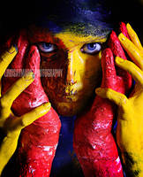 body paint. by lindsay--marie