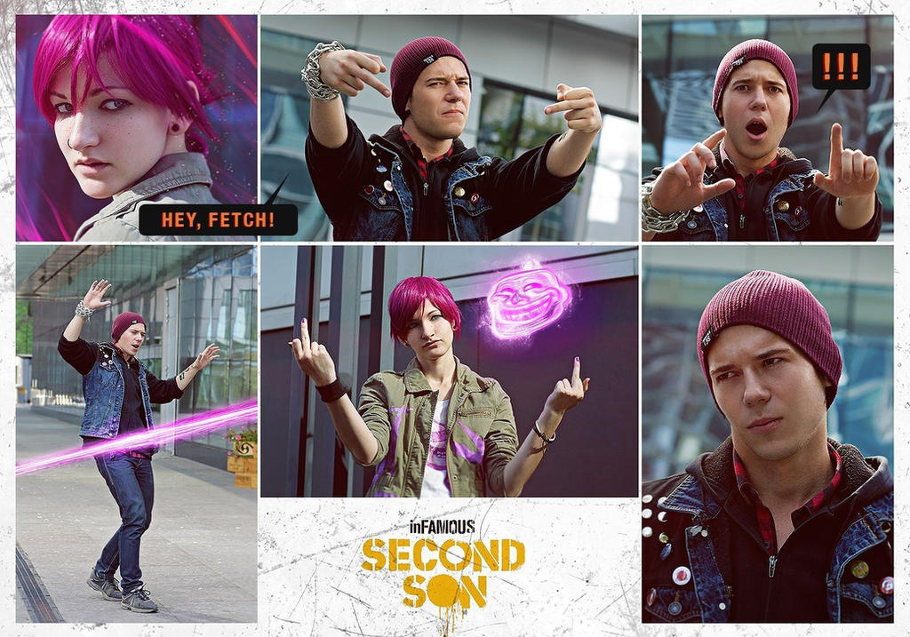 inFamous: second son (comics) by Bad-Llama