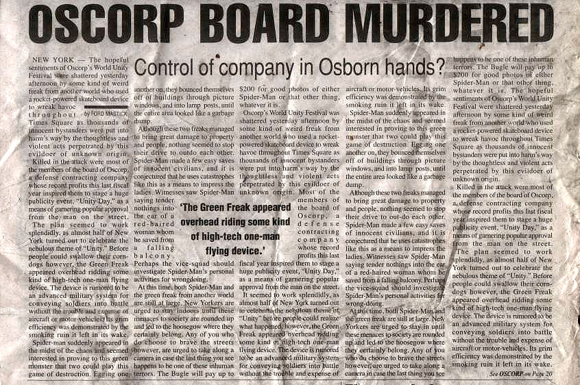 Oscorp Board Members MURDERED by SamuelBlomquist10 on DeviantArt