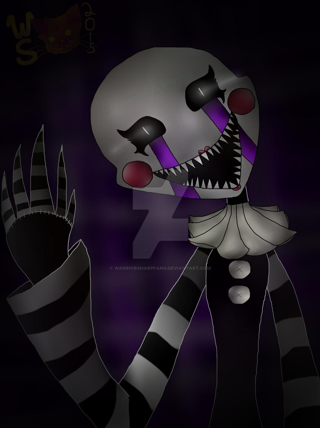Hello There Scary Fnaf Contest Entry By Warriorsharpfang On Deviantart