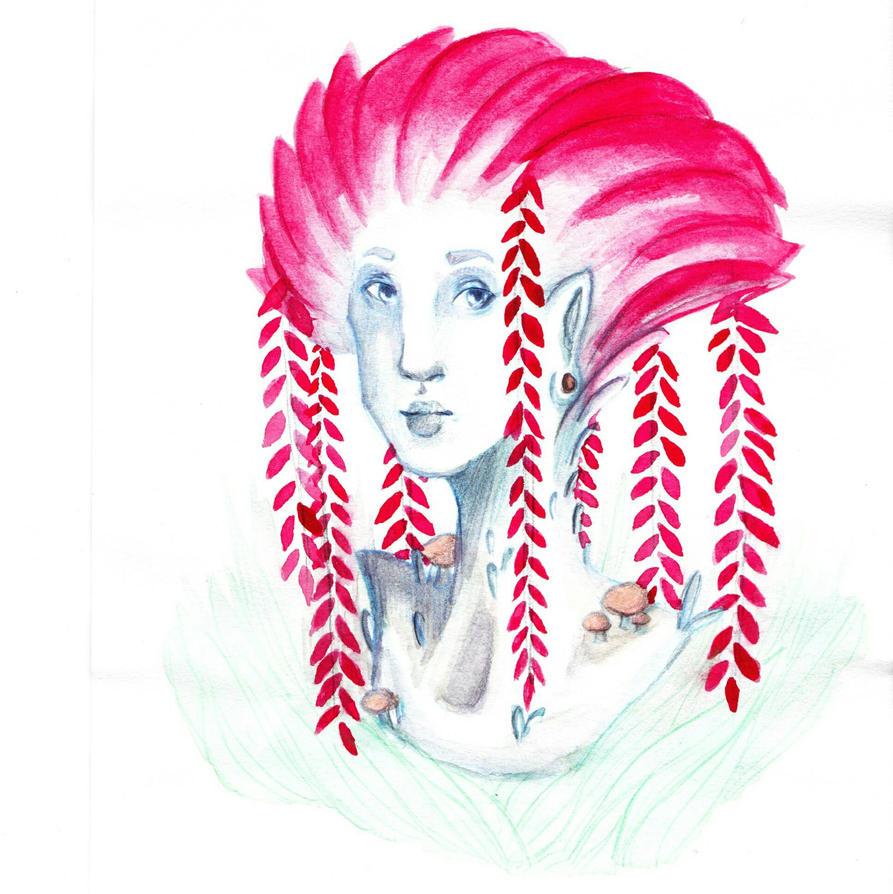 Willow Woman  by IamJoopiter