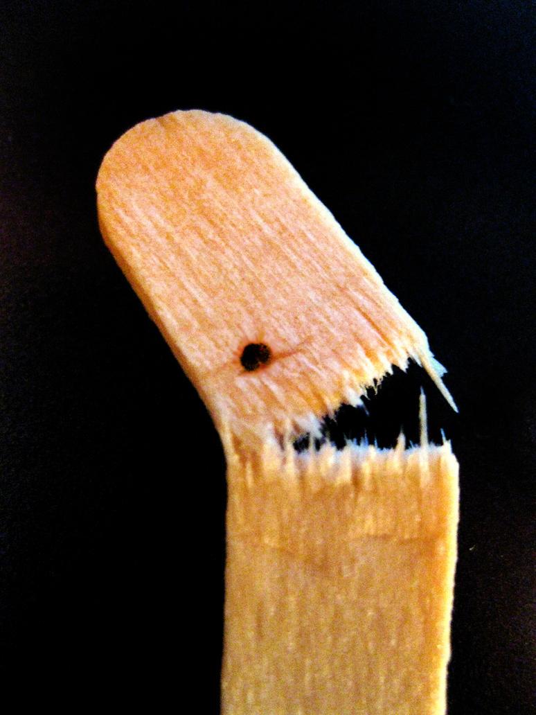 Popstick monster by DLouiseART