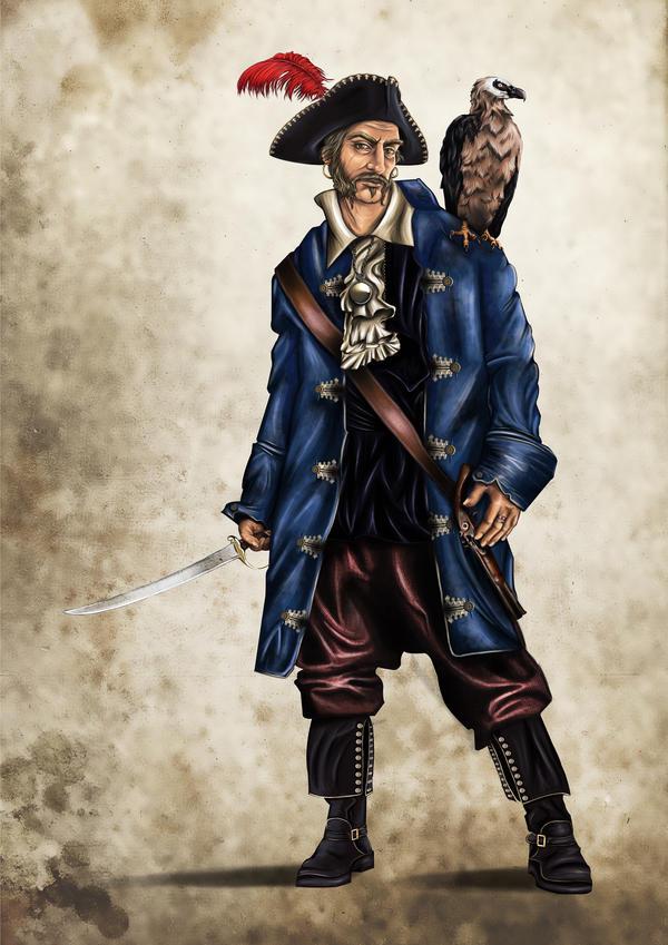 Fantasy Pirate Captain...