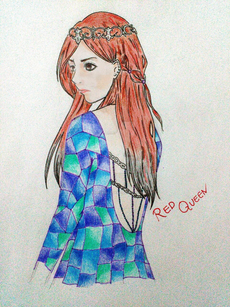 Red Queen~Mareena Titanos by Anna-Kyoyama-Itako