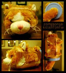 Bonsai Kitten by Icarusburns