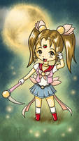 Sailor Harvest Moon by ChibiLeen