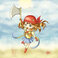 Sailor Summer by ChibiLeen