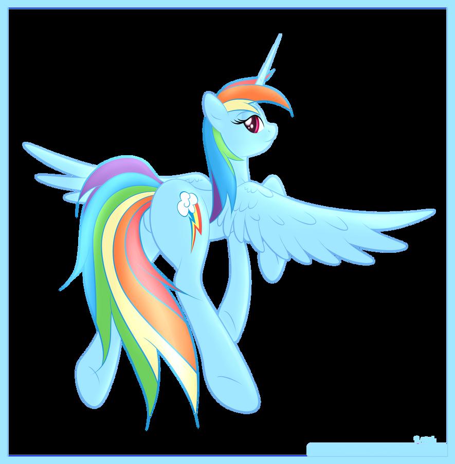 Rainbow Dash AlicornMlp Alicorn Rainbow Dash