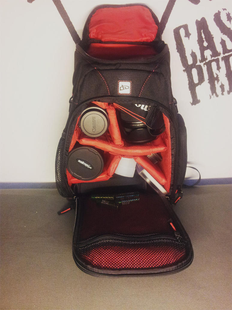 deviantART PRO Camera Bag - Action Shot by NoNick02FK
