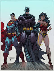 The DC Trinity... by thesealord