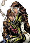 Rogue and Gambit - Embrace