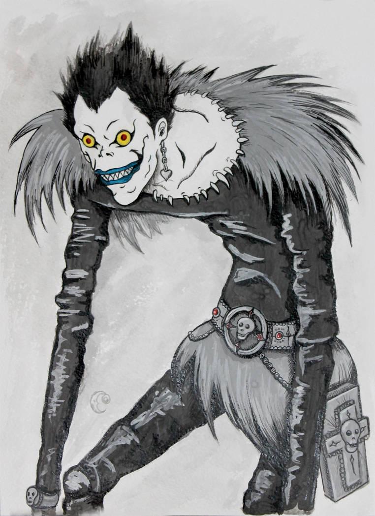 Ryuk  Death Note by Yama-kujira on DeviantArt