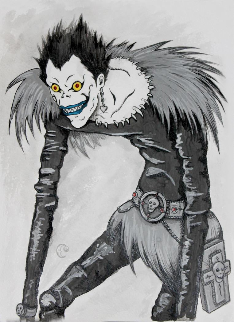 Ryuk. Death Note By Yama-kujira On DeviantArt