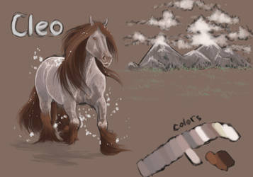 Cleo Doodle 1 by OlympianStables