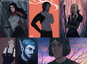 flat/painted commissions