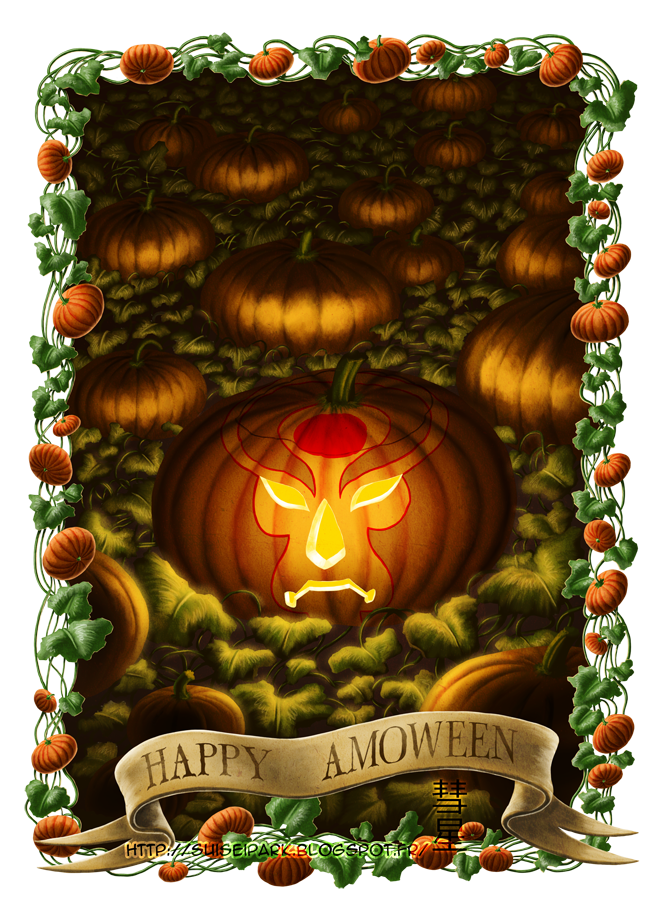 Happy Amoween by Killfaeh