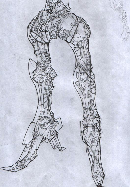 MH Leg Inner Mechanics by XaDu