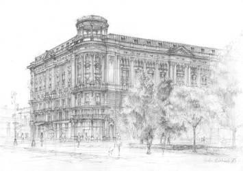 Hotel Bristol, Warsaw, Poland by NanLuthien