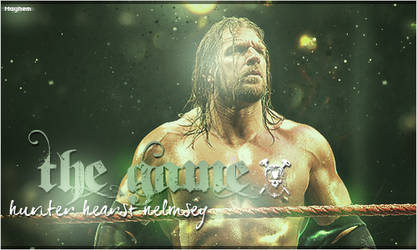 The Game - Triple H's Banner by ThisIsMayhem