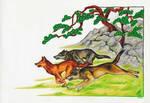 extinct japanese wolves