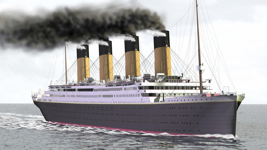 R.M.S. Titanic, the New One by cpt-smith