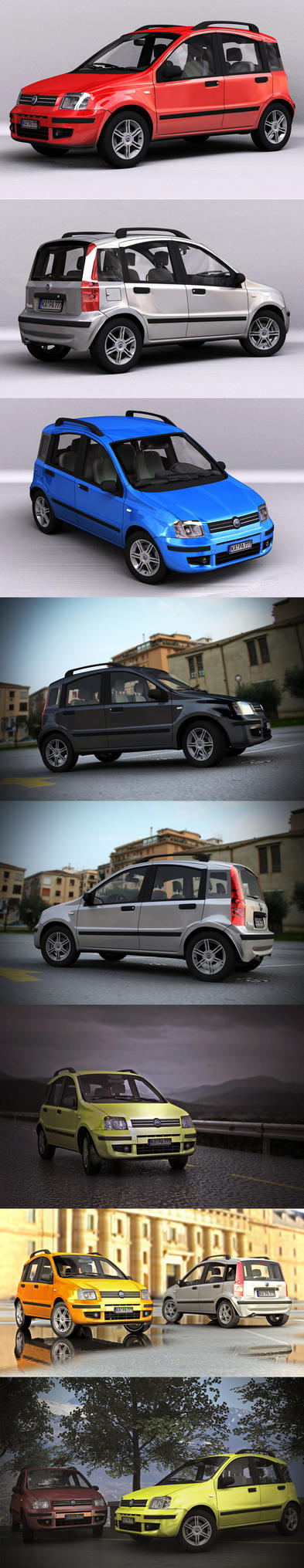 Fiat Panda by cpt-smith
