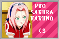 Pro Sakura Haruno Stamp by SarahNorwood