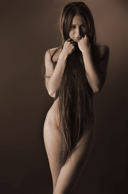 Shroud of Hair by Zedul