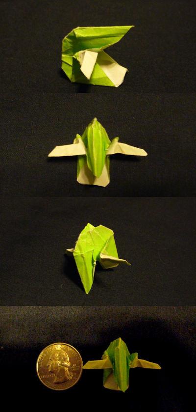 tiny slave one origami by kryz-flavored
