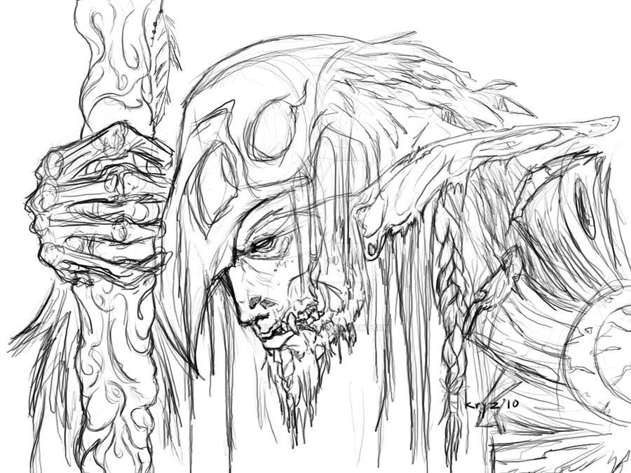 Druid of the Nightmare by kryz-flavored