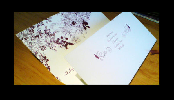 Wedding Invitation III by kamilnvk