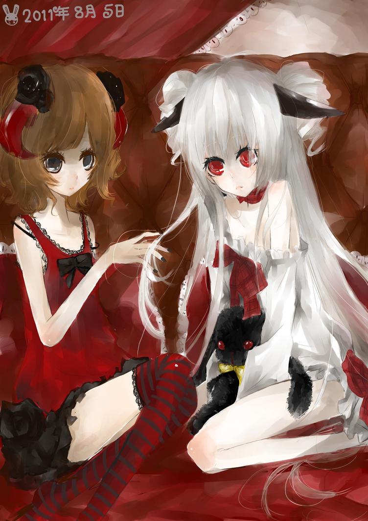 demon sisters by YUKI-02