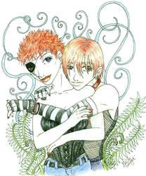 Vampire Twins by ChaosxAngel