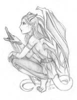 Dragon Female by ChaosxAngel