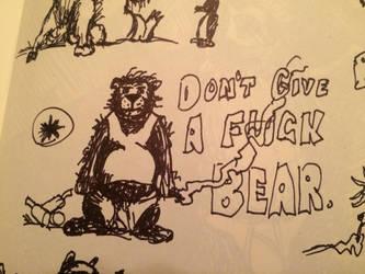 Dont Give a F@?k Bear