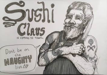 Sushi Claus