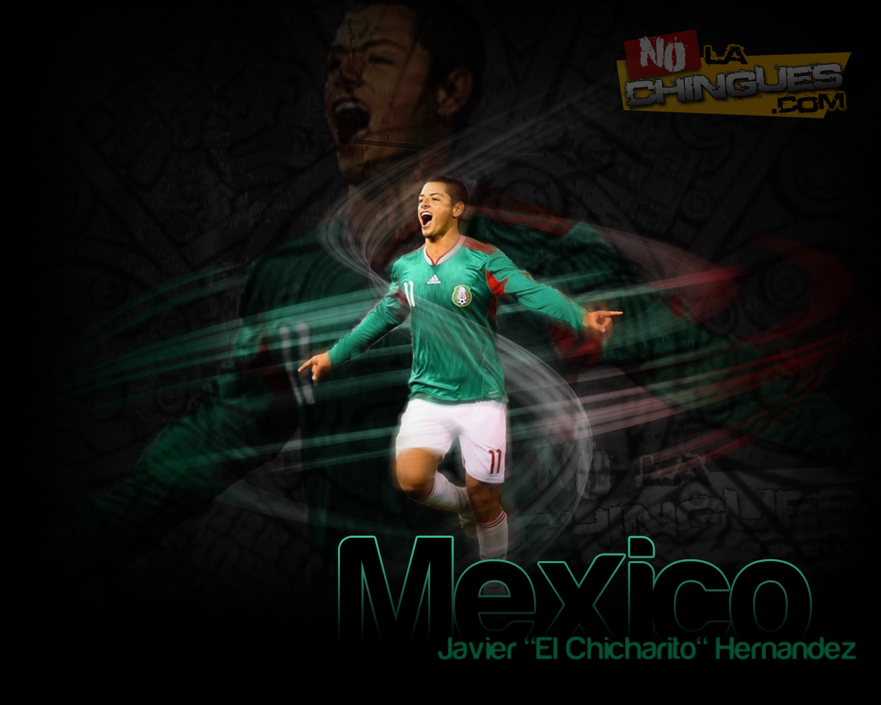 Wallpaper Memo Ochoa Y Chicharito Hernandez
