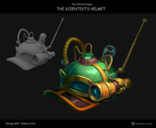 'The Office Dream' game set: The Scientist Helmet by XGingerWR