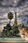 Saint-Charles' statues...