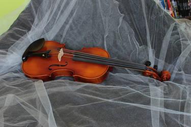 Violin Stock 2 by therainbowbrain